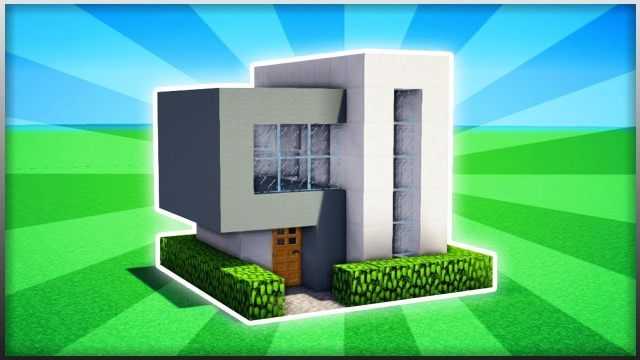 Minecraft - How to Make a Small Modern House - Game Roy