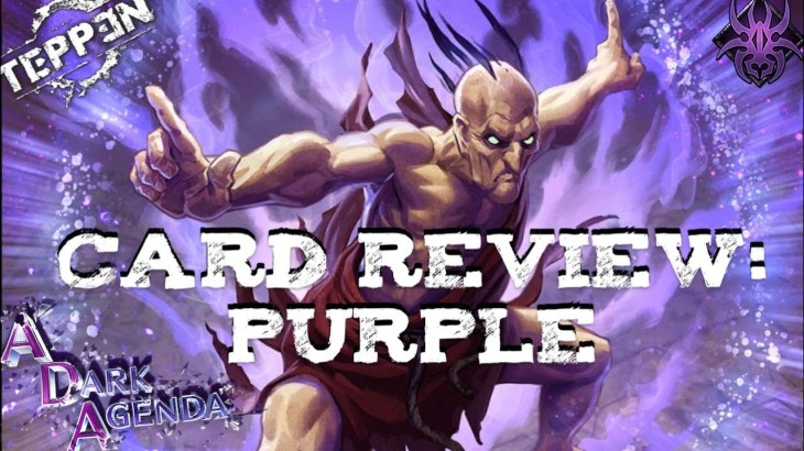 A Dark Agenda Card Review: Purple|Teppen