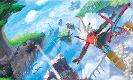 Poster for Rodea: The Sky Solider