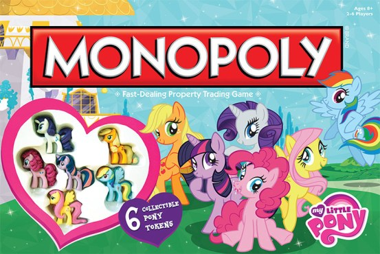 Let's play some My Little Pony Monopoly - I wrote this two years ago