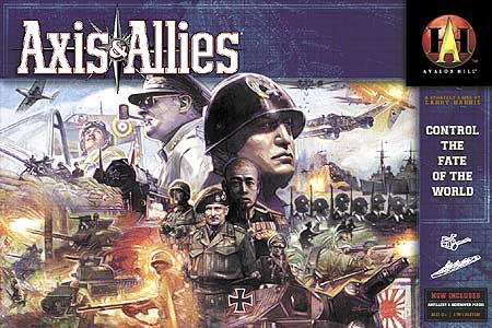 AXIS   ALLIES     Gamers Alliance Gamers Alliance The game comes large boxed with 366 molded plastic playing pieces  a large  20    x 33    mounted board  Industrial Production Certificates  Information  Cards