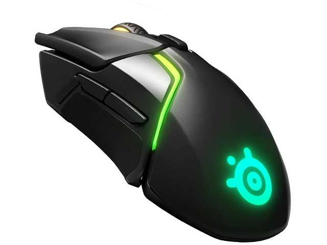 Mouse gaming wireless steelseries rival 650
