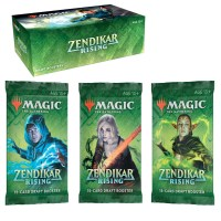 Zendikar Rising booster box draft