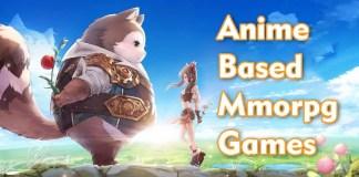 anime based mmorpg games