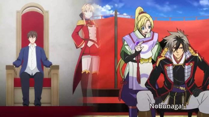 Anime where MC is king