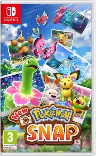 La jaquette avant de New Pokémon Snap