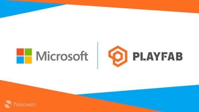 Microsoft + PlayFab