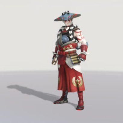 Hanzo, skin Kabuki.