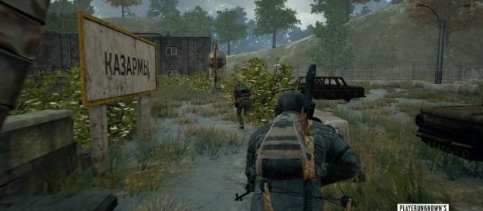 A corrida automática é uma das novidades para PUBG no Xbox One