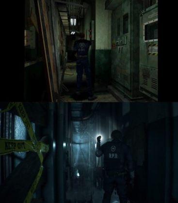 Resident Evil 2 e Remake.