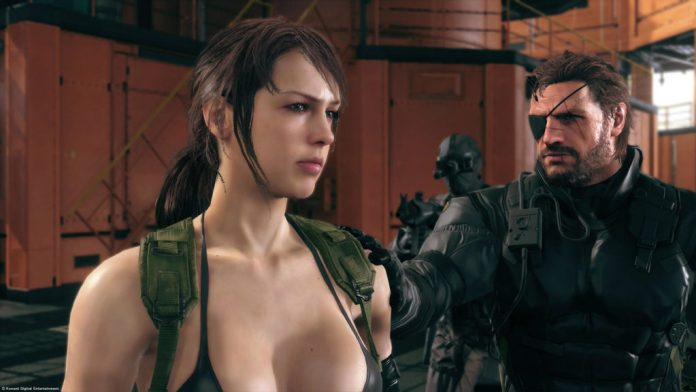 Quiet, Metal Gear Solid V: The Phanotm Pain