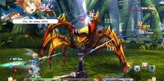 Sword Art Online Re: Hollow Fragment agosto