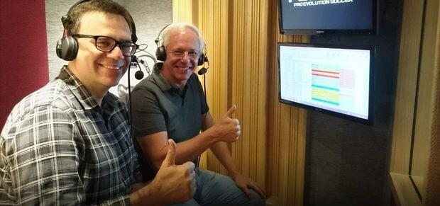 Milton Leite e Mauro Beting - PES 2019