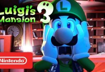 Luigi's Mansion, Switch, Nintendo, Nintendo Switch