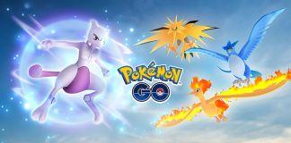 Pokemon Go, Articuno, Moltres, Zapdos, Mewtwo, Pokémon, Evento