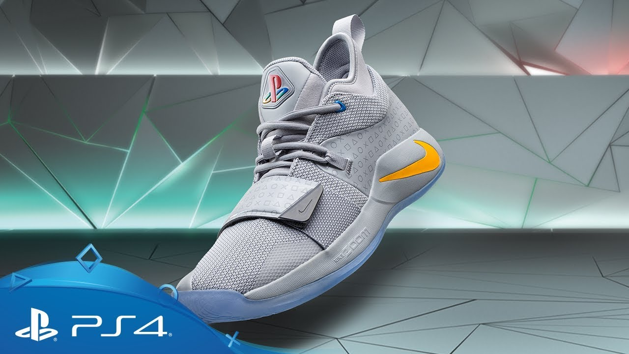 Tem Na Web - Nike anuncia novo tênis em parceria com PlayStation e Paul George(NBA)