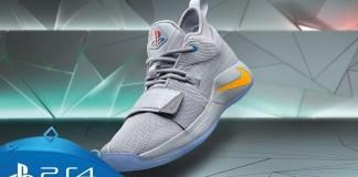 Nike, PlayStation, Paul George, NBA, Tênis