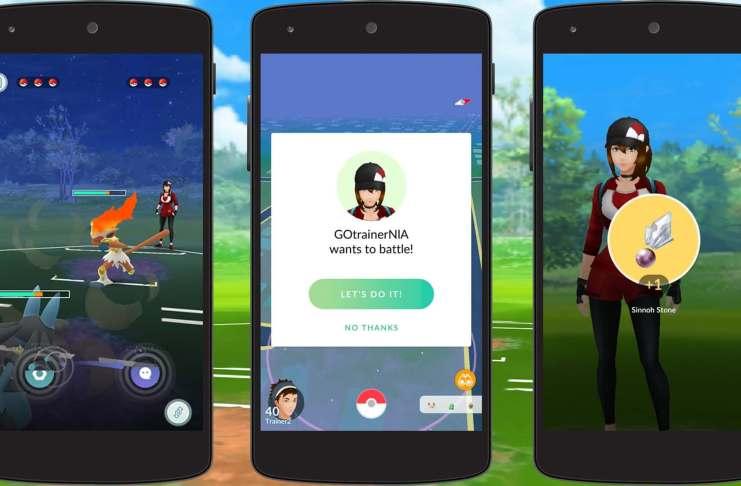 Pokémon GO, Batalhas de Treinadores, iOS, Android, Niantic