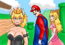 New Super Mario Bros. U Deluxe, Bowsette,
