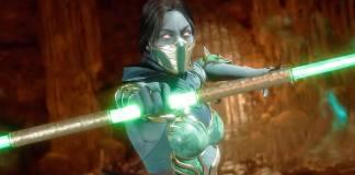 Mortal Kombat 11, lutadores, personagens, Jade