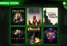 Xbox Game Pass, Vampyr, Marvel vs. Capcom Infinite