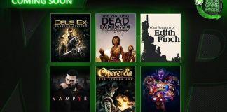 Xbox Game Pass, Vampyr, Marvel vs. Capcom Infinite