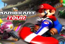 Mario kart Tour, beta, Android