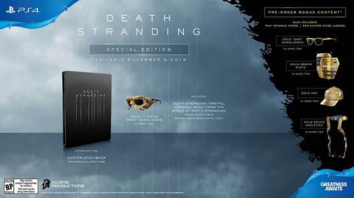 Edição especial - Death Stranding