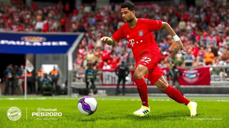 eFootball PES 2020 Serge Gnabry