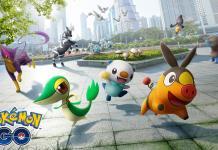 Pokémon GO quinta geração de Unova