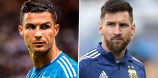 FIFA 20 Lionel Messi Cristiano Ronaldo Overall