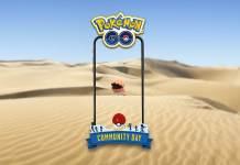 Trapinch Pokémon Go, Dia Comunitário