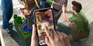Minecraft Earth, Android, iOS