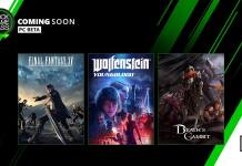 Xbox Game Pass, Final Fantasy XV, Wolfenstein: Youngblood, Death Squared