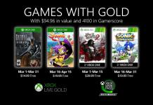 Games With gold, Batman: The Enemy Within, Shantae: Half-Genie Hero, Sonic Generations, Castlevania: Lords of Shadows 2