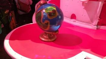 Globe on the Odyssey