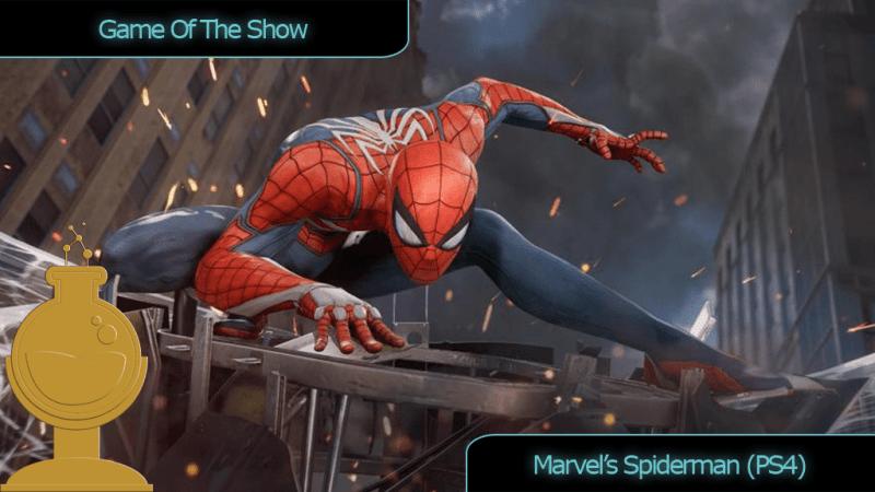 E3 Award Game of the Show Spider-Man