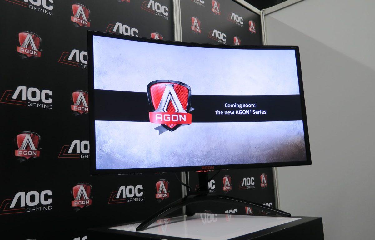 Gamescom 2017 - AOC zeigt die Monitore der Zukunft
