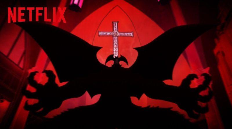 Devilman Crybaby Netflix Anime Serie Titel
