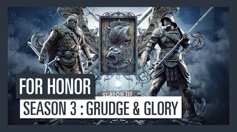 Season 3: Grudge & Glory