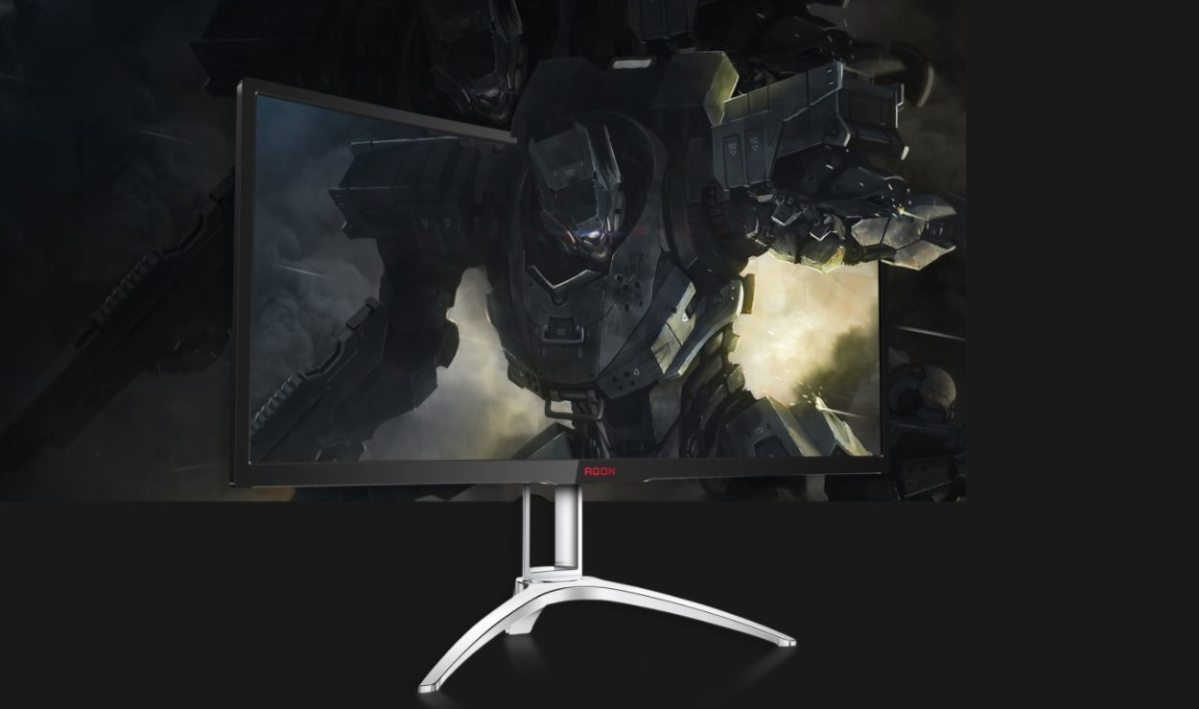 AOC AGON AG352QCX Gaming-Monitor im Test