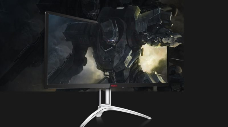 AOC AGON 352QCX 35 Zoll 35 inch Gaming Monitor Curved Titel 1