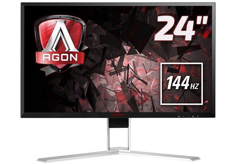 AOC AGON AG241QX Gaming Monitor 24 Zoll Review Test 1