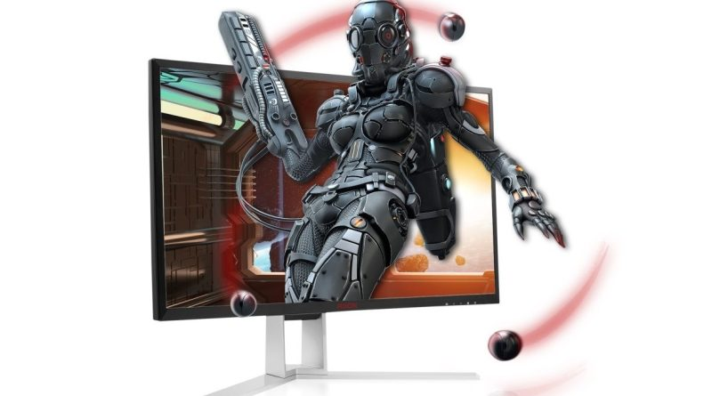 AOC AGON AG241QX Gaming Monitor 24 Zoll Review Test