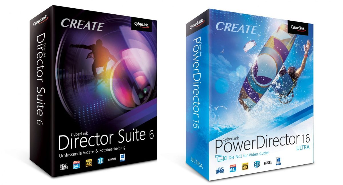 CyberLink PowerDirector 16 + Director Suite 6 vorgestellt