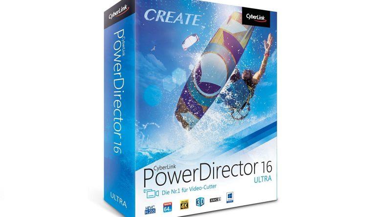 PowerDirector 16 CyberLink Gewinnspiel Titel