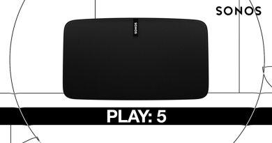 Sonos Play5 Play 5 Test Review Wireless Multiroom Speaker Lautsprecher Titel