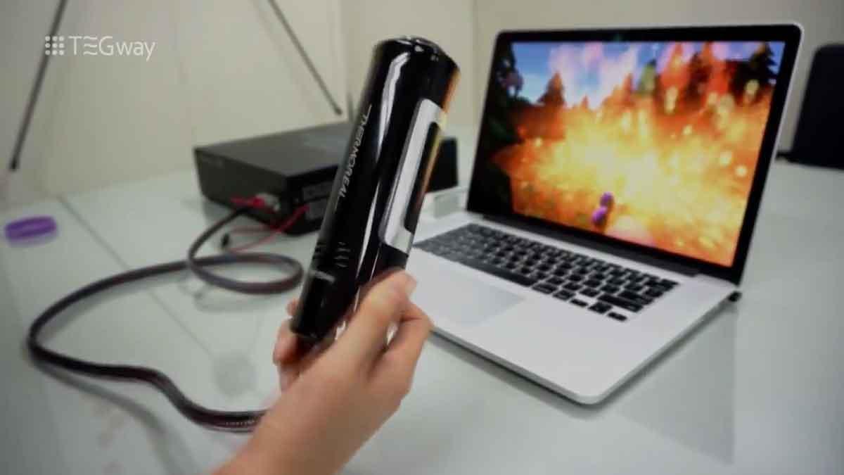 ThermoReal - Hitze, Kälte + Schmerz für VR, AR und Co