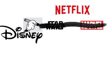 Disney Star Wars Marvel Netflix