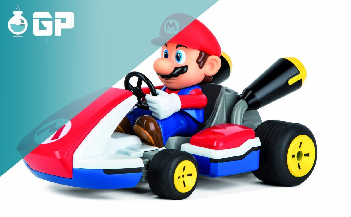 Mario Kart auf echten Wegen dank Carrera RC! - Video